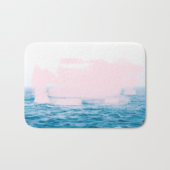 Ocean + Pink #society6 #decor #buyart Bath Mat