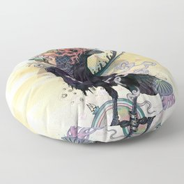 You are Free to Fly Floor Pillow