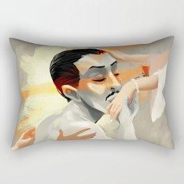 The Mistress Rectangular Pillow