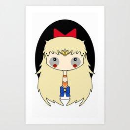 sailor venus estilo Art Print