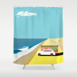 Mar de Cortez (square) Shower Curtain