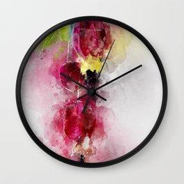 Berries or flowers Wall Clock