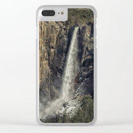 Bridalveil Fall Clear iPhone Case