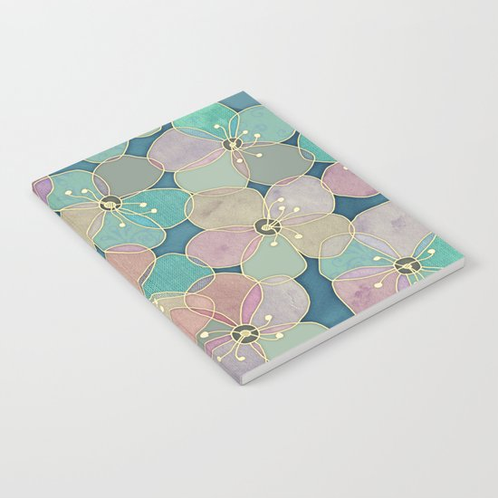 It's Always Summer Somewhere 2 - translucent poppy doodle Notebook