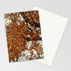 Colors Thriving As The Leaves Are Dying Stationery Cards