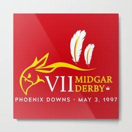 Midgar Derby Metal Print