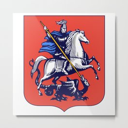 Moscow Coat of Arms Metal Print