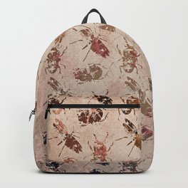 hot buggy mess persimmon brown Backpack