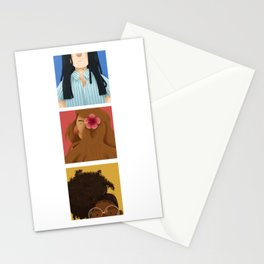 Natural Hair Stationery Cards