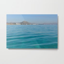 travel destination in holidays it the best for changing your mind Metal Print