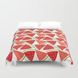 Sliced Watermelon Duvet Cover