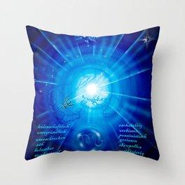 Zodiac sign Skorpio Throw Pillow