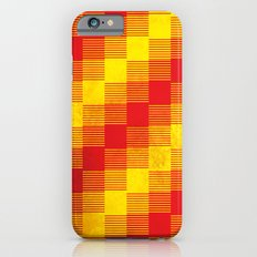 Rusty yellow and red motive iPhone 6s Slim Case