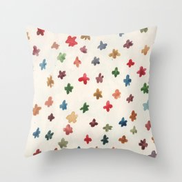 Smol Florals or Forrest of Corals? Throw Pillow