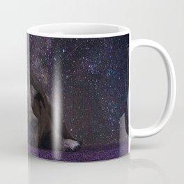 Flower Field Pug Coffee Mug