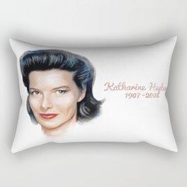 Katharine Hepburn Rectangular Pillow