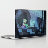 hyrule Laptop & iPad Skins featuring When Hyrule Drowns by Ann Marcellino