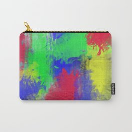 Abstract colorful pattern Carry-All Pouch