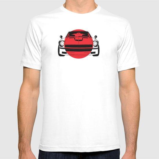 240Z - Japanese Flag T-shirt