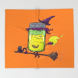 The Witch Jam Throw Blanket