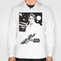 luke hemmings Hoodies featuring Luke Skywalker by Popp Art