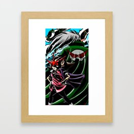 The Gurren Bonne Family Framed Art Print