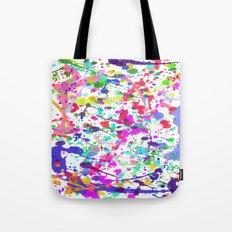 Paint Splatter 1 - White Tote Bag