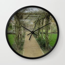 A Winding Way Wall Clock