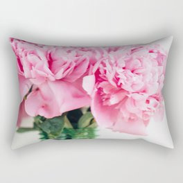 peonies 01 Rectangular Pillow