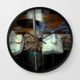 The Brown Nose - Feeling Blue Wall Clock