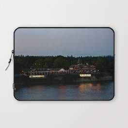 A Night on the River Laptop Sleeve