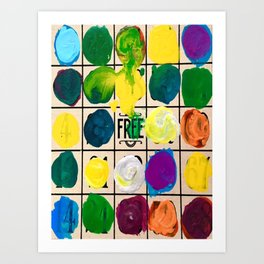 Free Play Every Day  Art Print