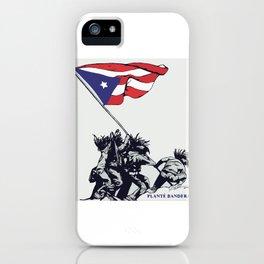 Planté Bandera iPhone Case