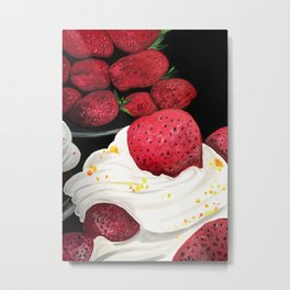 Strawberry Dream Metal Print