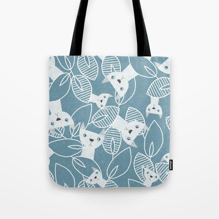 Peaking Cats Tote Bag