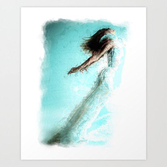 Soaring!  Digital Print by Mark Compton Art Print