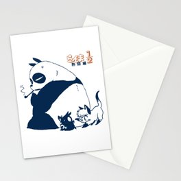 Genma panda ranma Stationery Cards