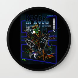 Art Thou Ready? Wall Clock