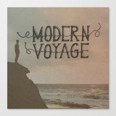Modern Voyage Canvas Print