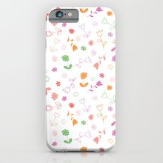 Spring flowers iPhone 6s Slim Case