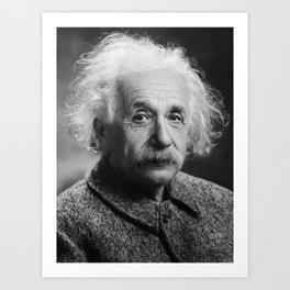 Albert Einstein Art Print