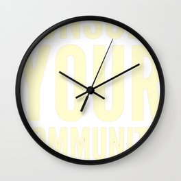 A Day Without A Woman - Consult Your Community Wall Clock