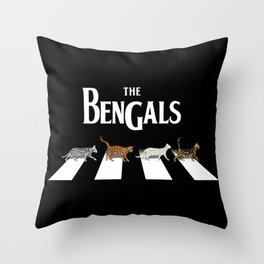 The Bengals Throw Pillow