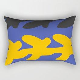 Digital Gouaches Découpées Rectangular Pillow