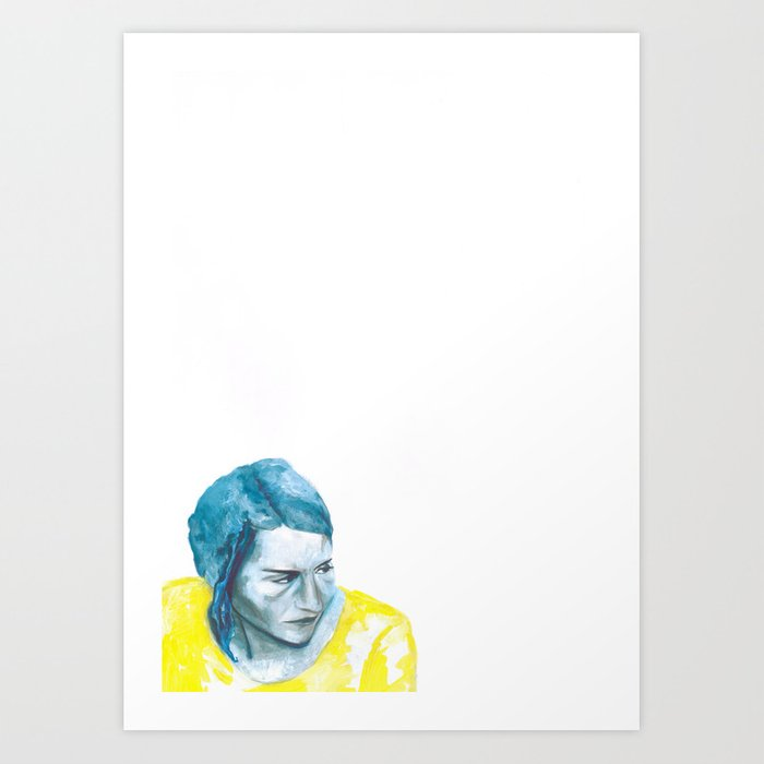Au travail 5 Art Print