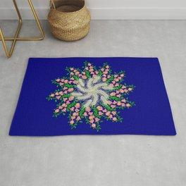 Mandala #103, Wheat, Symbol of Life Rug