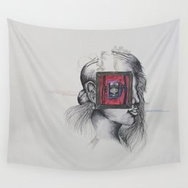Carbon Body, Silicon Mind Wall Tapestry