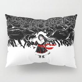 Night of Reindeer Pillow Sham