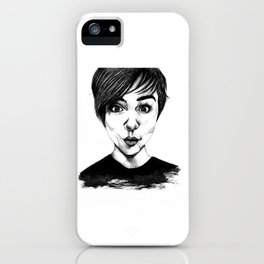 Lily Collins iPhone Case