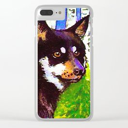Lapland sheepdog Clear iPhone Case